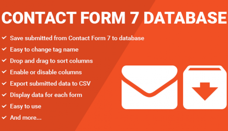 Contact Form Seven CF7 Database | Prosyscom Tech