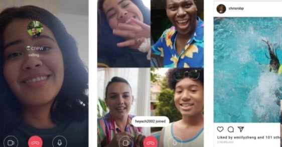 Instagram now lets you video chat with up to three buddies | Tech News
