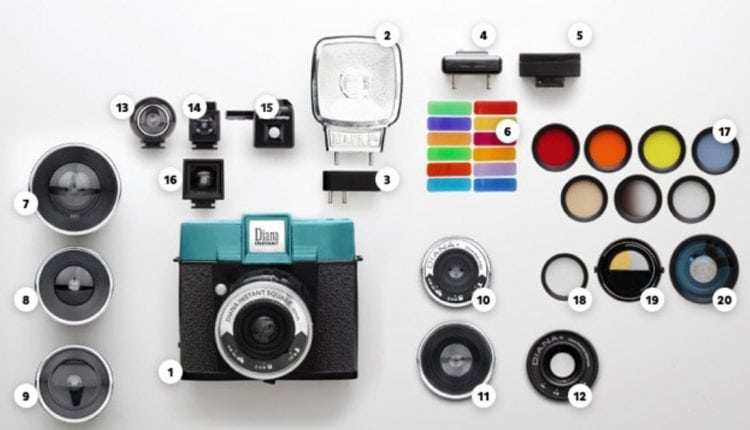 A Polaroid-style camera with interchangeable lenses and a hotshoe flash? Yes please. | Tech News