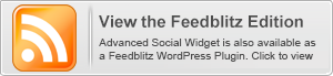 Advanced Social Widget is also available in a Feedblitz WordPress edition