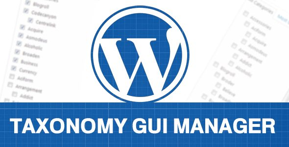 WP Taxonomy GUI Manager   Prosyscom Tech 1