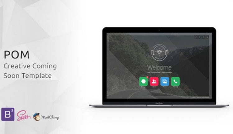 POM – Creative Coming Soon Template | Prosyscom Tech