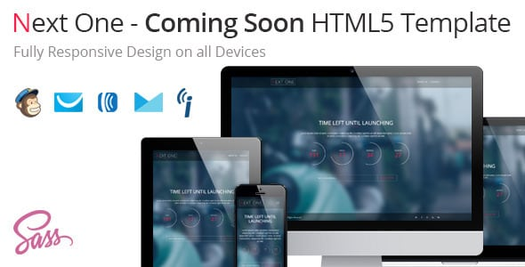 Next One – Coming Soon HTML5 Template | Prosyscom Tech