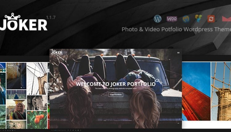 Joker – Photo & Video Portfolio WordPress Theme | Prosyscom Tech