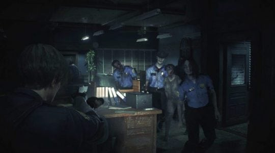 Resident Evil 2 Remake Gameplay Footage
