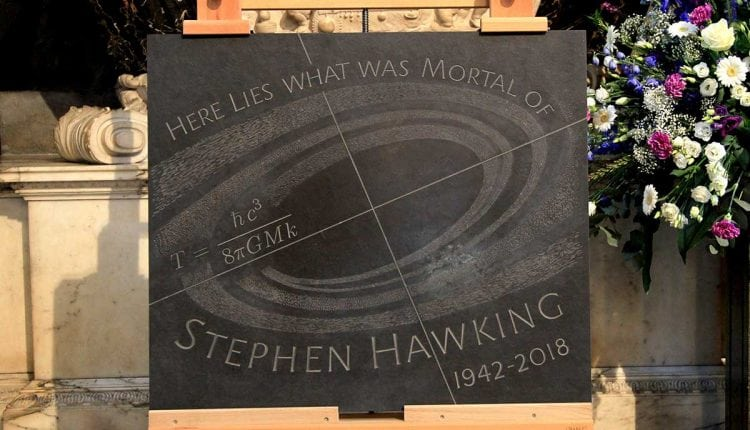 Stars gravitate to Stephen Hawking's memorial service | Tech News