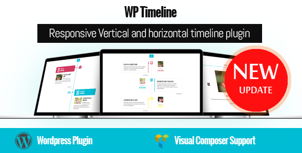 WP Timeline – Responsive Vertical and Horizontal timeline plugin | Prosyscom Tech