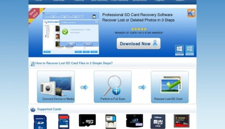Best SD Card Recovery Software – Since 2002 – CardRecoveryPro™ | Prosyscom Tech