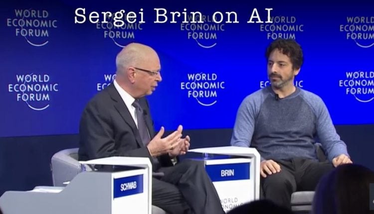 Sergey Brin on the Future of AI and Google @ Davos 2017 | Tech News