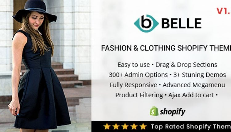 Belle – Clothing and Fashion Shopify Theme | Prosyscom Tech