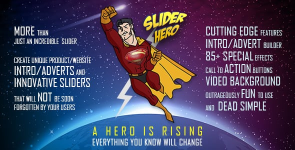 Slider Hero with Animation Effects, Video Background and Intro Maker | Prosyscom Tech 1