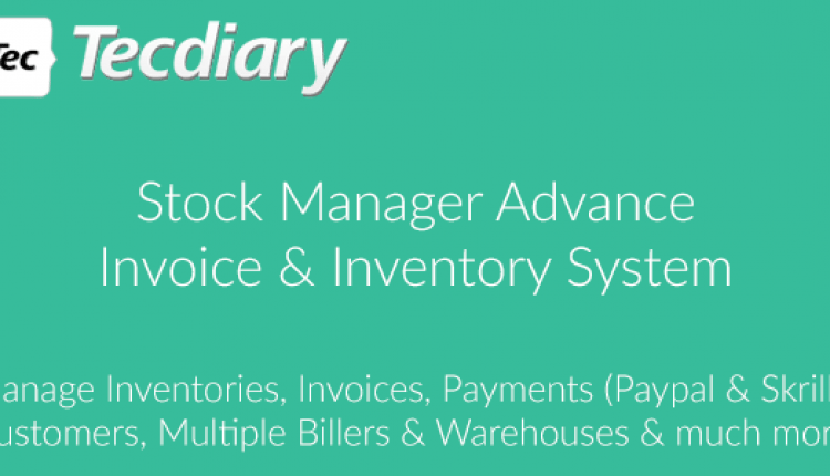 Stock Manager Advance (Invoice & Inventory System) | Prosyscom Tech