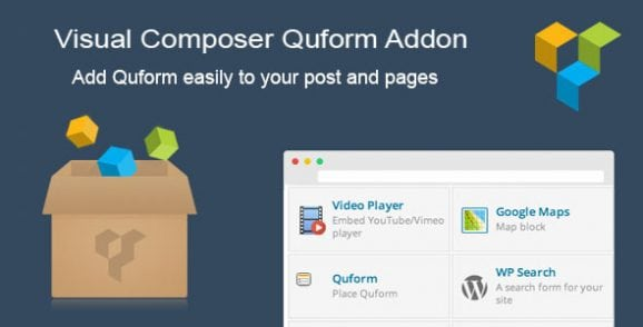 Visual Composer Quform Addon | Prosyscom Tech