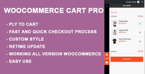 WooCommerce Cart Pro – Sidebar Cart | Prosyscom Tech