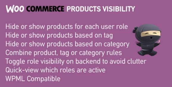 WooCommerce Products Visibility | Hide Products, Categories and Tags by User Role | Prosyscom Tech