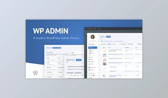 WP Admin Theme CD – A clean and modern WordPress Admin Theme