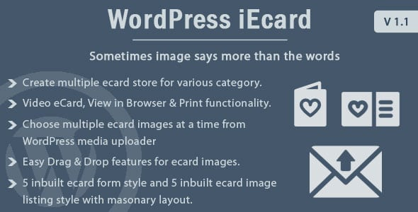 WP ieCard - WordPress eCards Plugin | Prosyscom Tech 1