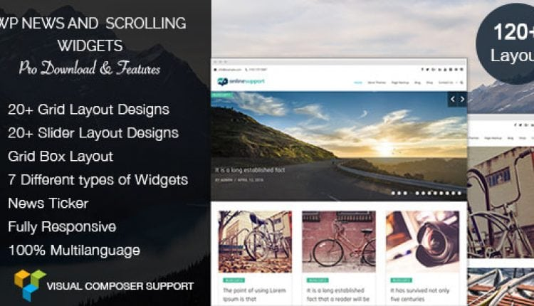 WP News and Scrolling Widgets Pro – WordPress News Plugin | Prosyscom Tech