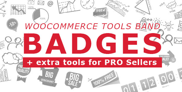 Woocommerce Tools Band: Badges + extra tools for PRO Sellers | Prosyscom Tech