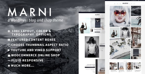 Marni – a WordPress Blog & Shop Theme | Digital Market