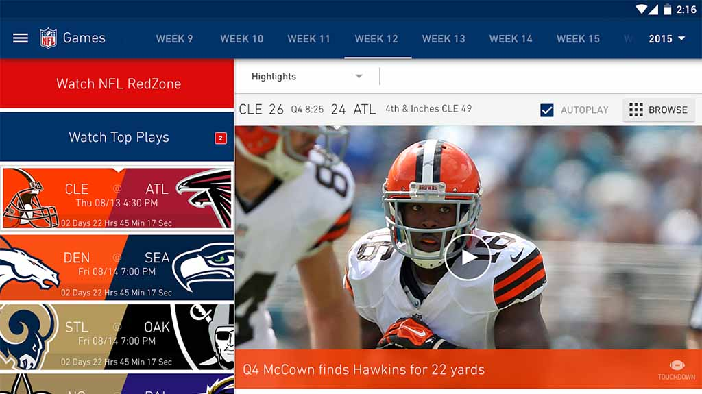 best NFL apps and football apps featured image