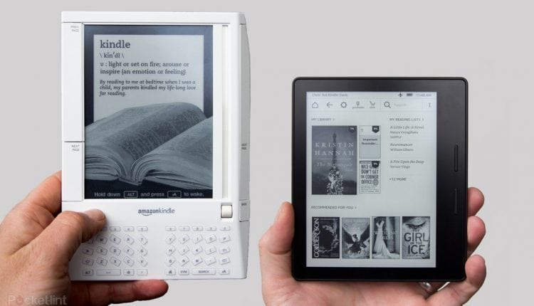 Amazon Kindle: A brief 10-year history from the original Kindle to the new Kindle Oasis | Apps & Software