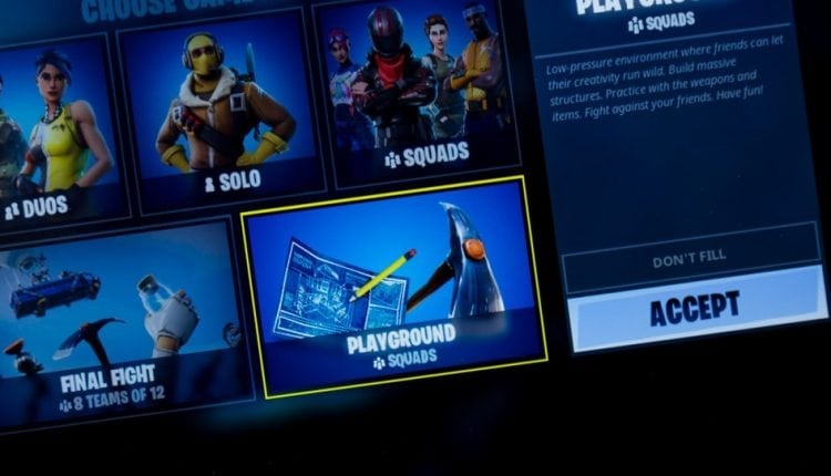 Fortnite gets new free game mode with v4.5 patch: Playground | Apps & Software