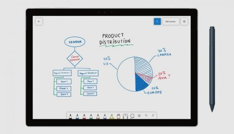 Microsoft Whiteboard app is out and lets you collaborate with others | Apps news