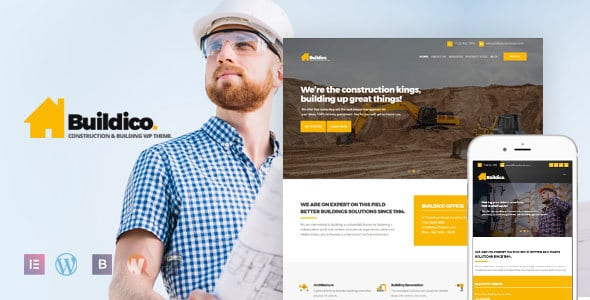 Buildico – Construction and Building WordPress Theme | Digital Market