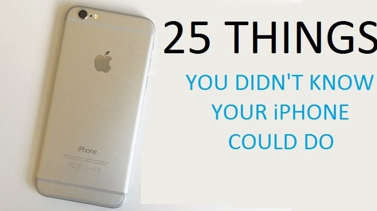 Comment on 25 Incredible Things You Didn't Know Your iPhone Could Do by Technology tips saif | Tips & Tricks
