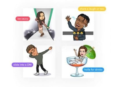 Tinder tests Bitmoji integration using the recently launched Snap Kit | Tech Social
