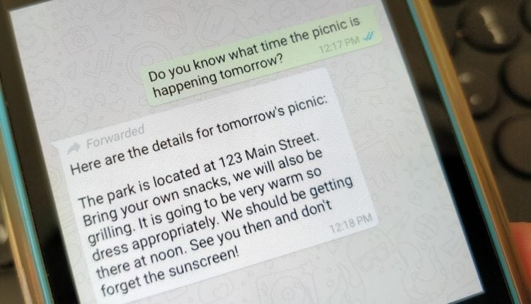 WhatsApp limits forwarded messages to curb the spread of fake news | Tech Biz