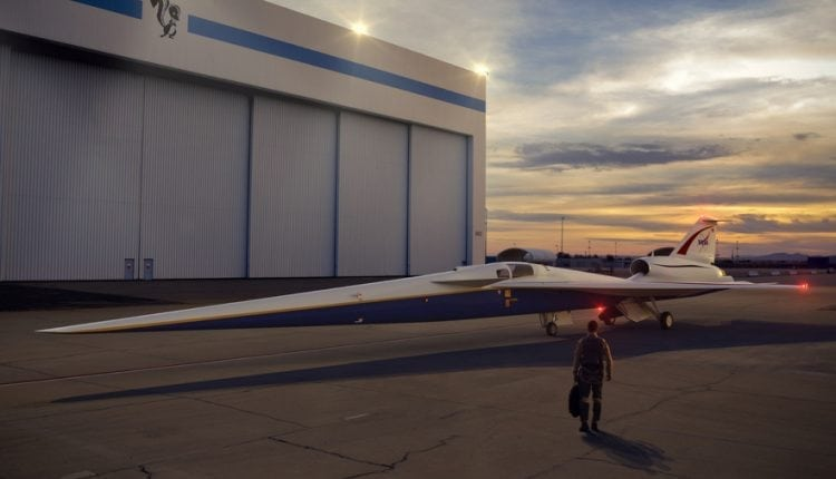 Why NASA's new supersonic X-plane needs to beat the boom | Innovation Tech