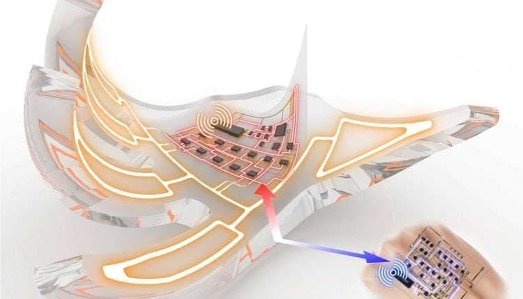 Researchers develop electronic skins that wirelessly activate fully soft robots | Robotics