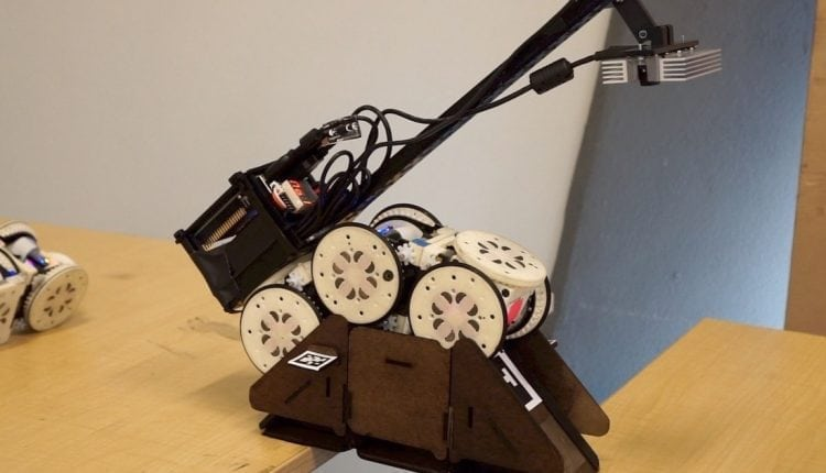 Simple Robots Perform Complex Tasks With Environmental Modifications | AI