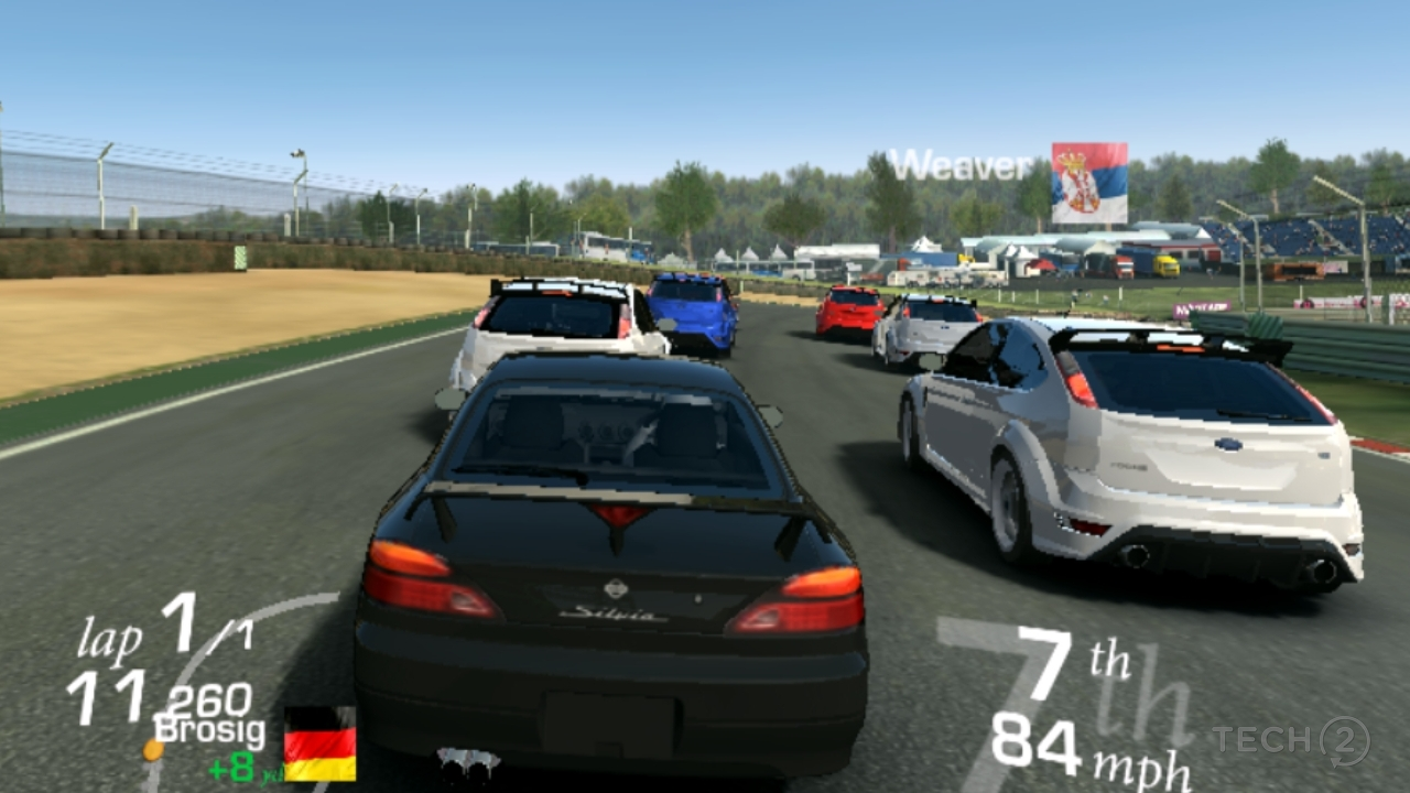 Real Racing 3 did not run well on the P20 Lite.