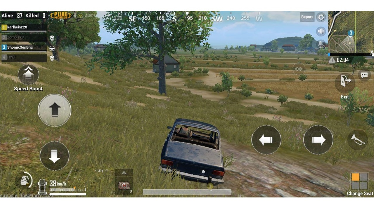 The ZenFone Max Pro dropped a few frames here and there while playing PUBG at max settings.