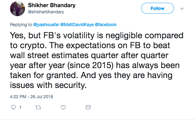 What Volatility? How Facebook's Historic Loss Became Crypto's Gain | Crypto 11