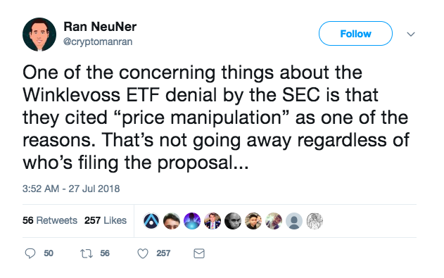 Rejection Aside, Calls for a Bitcoin ETF Are Only Escalating | Crypto 10