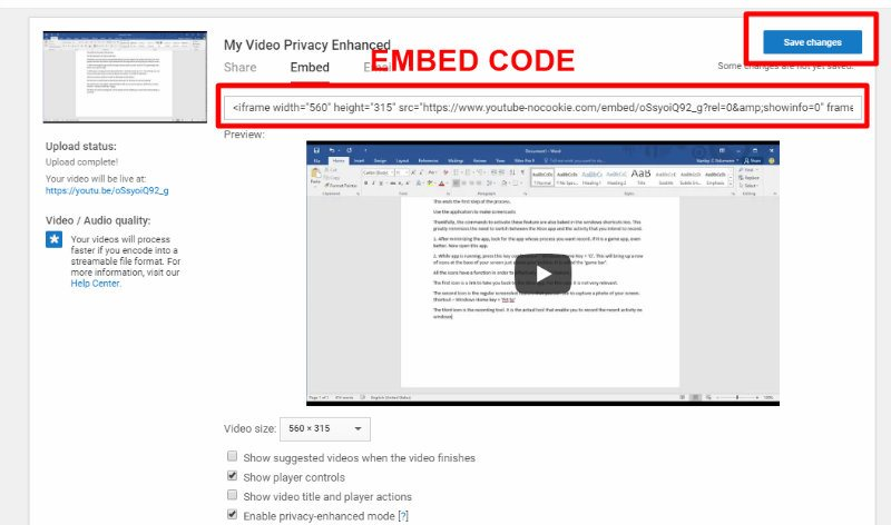 embed-youtube-videos-privately-embed-code