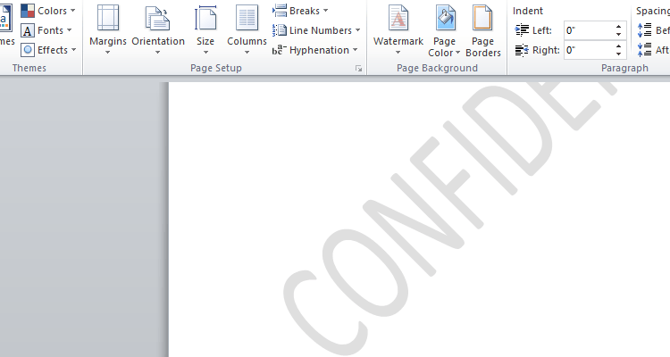 How to Add a Watermark to your Word Documents | How To