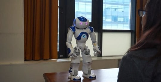 Could robots be counselors? Early research shows positive user experience | Robotics