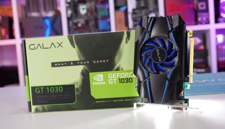 GeForce GT 1030: The DDR4 Abomination Benchmarked | Tips & Tricks
