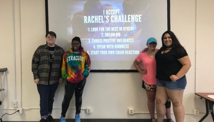 Innovation Tech Accepts Rachel's Challenge | Innovation Tech