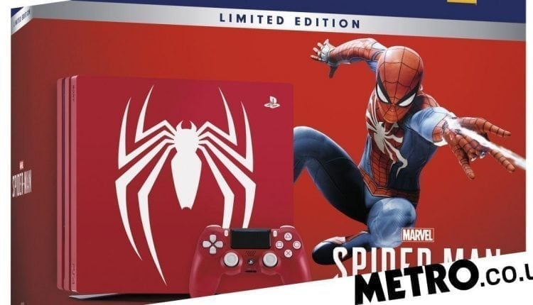 Marvel unveil Spider-Man PS4 Pro bundle and new trailer at Comic-Con | Gaming