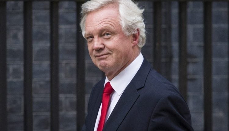 UK's Brexit Secretary David Davis has resigned | Digital Asia