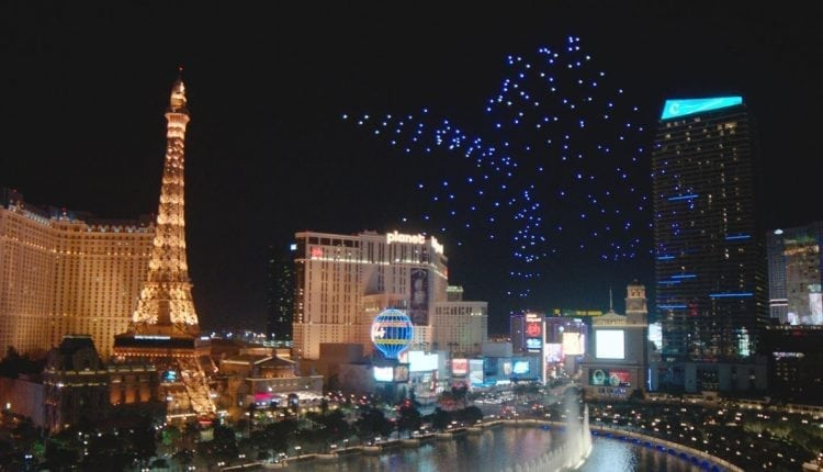 Pixels in the night:why drone light shows are taking off | Innovation Tech
