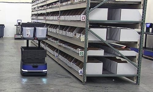 Robotic Carts From 6 River Systems Maximize Productivity With the Cloud, Human Pickers | Robotics