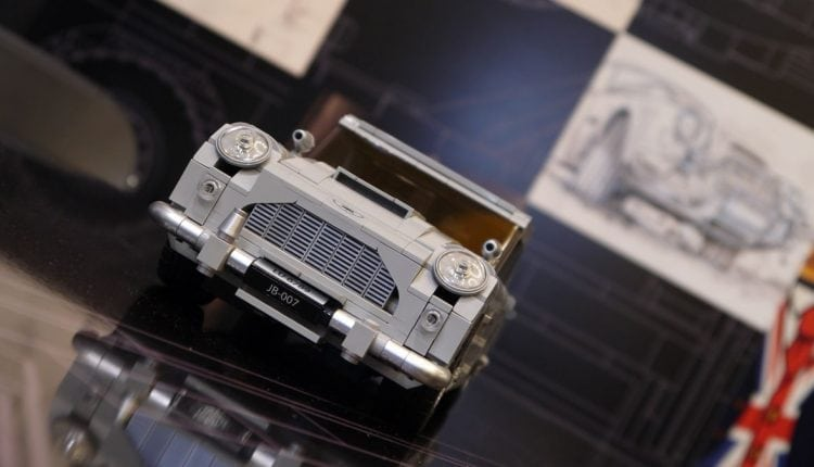 James Bond's Lego Aston Martin DB5 comes complete with an ejector seat | Innovation