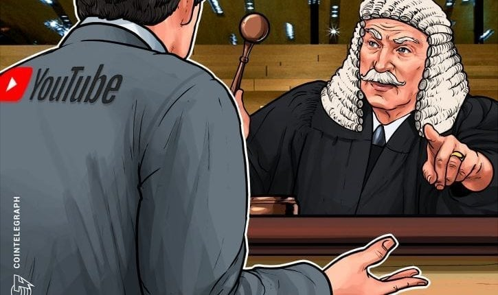 YouTube Added as Defendant in Class Action Lawsuit Against BitConnect | Crypto News